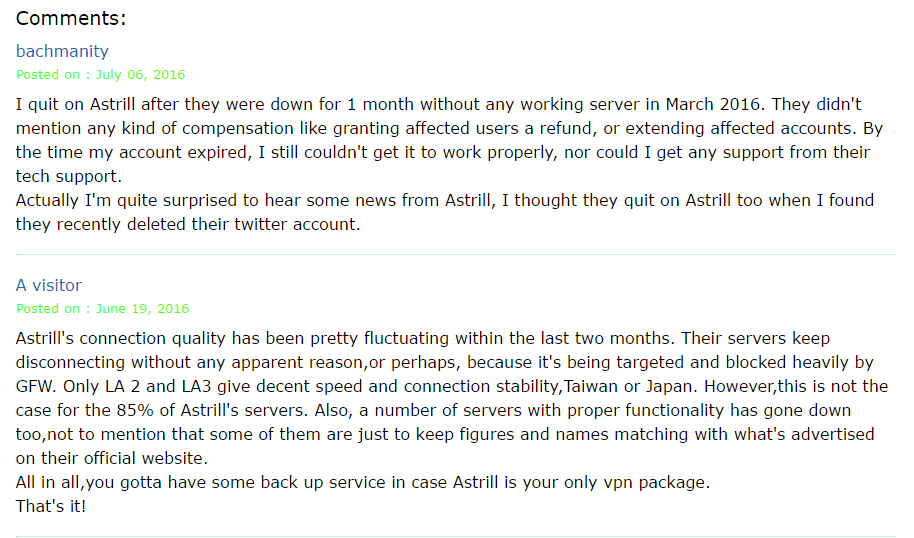 Comments from the 2016 Tips for China blog.