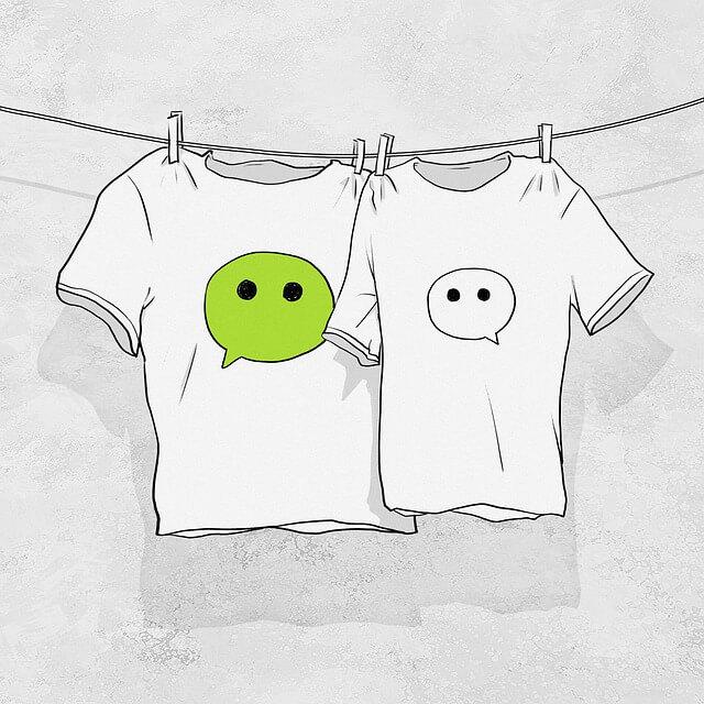 WeChat cartoon image