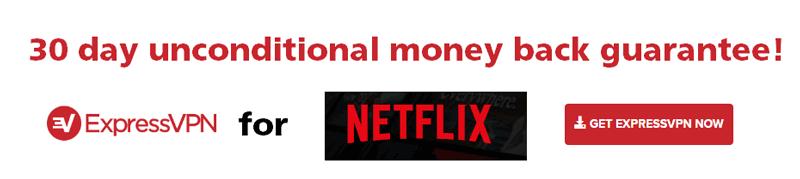 ExpressVPN banner graphic - 30 day money back guarantee